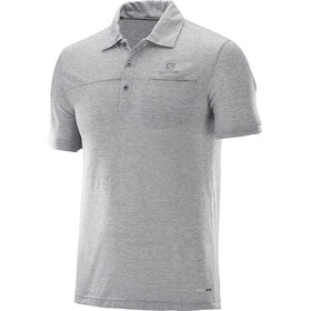 Salomon Explore Shortsleeve Shirt Men grey